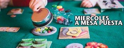 A mesa puesta - juegos de mesa todos los miércoles
