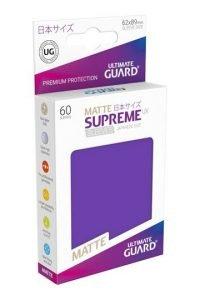 Ultimate Guard Supreme UX Sleeves Fundas de Cartas Tamaño Japonés Violeta Mate (60)